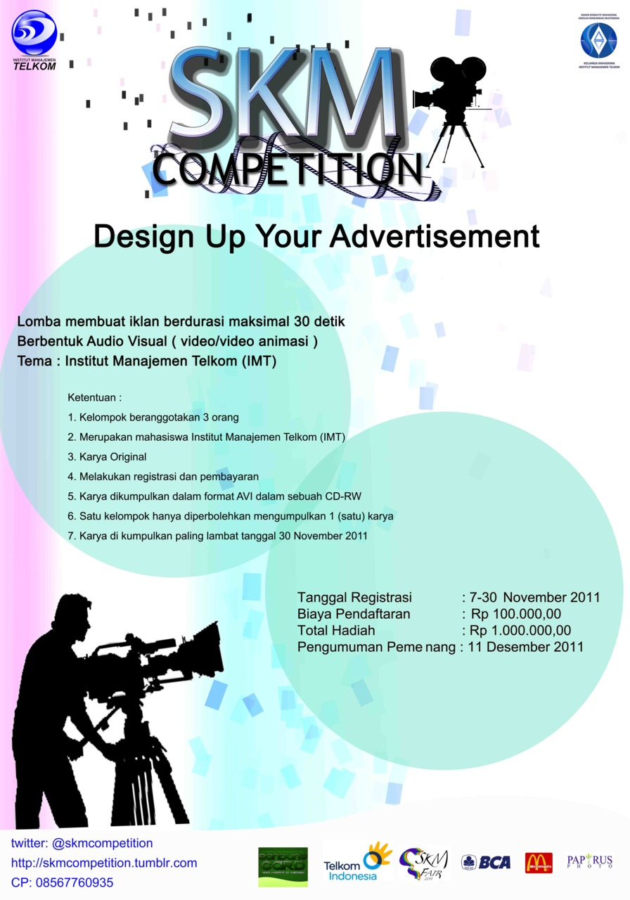 Skm Competition Design Up Your Advertisement Campus Media Of